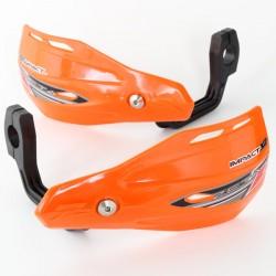ZETA Handbary IMPACT X2 szalki/listki osłony dłoni pomarańczowe komplet MX ENDURO