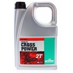 MOTOREX Olej Cross Power 2T 4L 100% syntetyczny