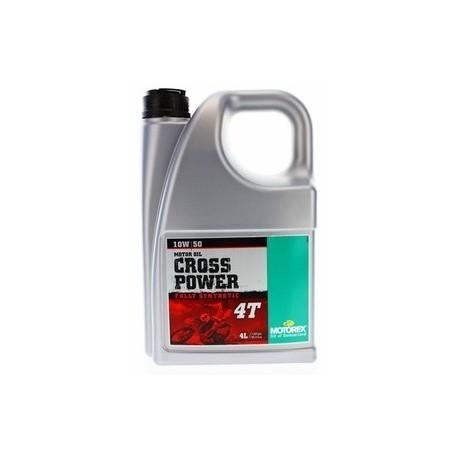MOTOREX Olej Cross Power 4T 10W50 4L 100% syntetyczny