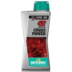 MOTOREX Olej Cross Power 4T 10W60 1L 100% syntetyczny