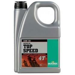 MOTOREX Olej Top Speed 15W50 4L 100% syntetyczny