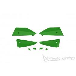 BARKBUSTERS Deflektory szalek MTB komplet zielony do rowerów E-BIKE / ENDURO / DOWNHILL / MOUNTAIN / LEISURE