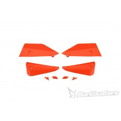 BARKBUSTERS Deflektory szalek MTB komplet pomarańczowy do rowerów E-BIKE / ENDURO / DOWNHILL / MOUNTAIN / LEISURE