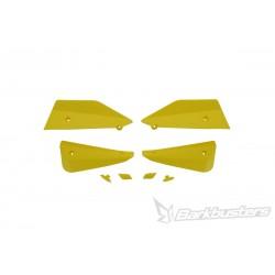 BARKBUSTERS Deflektory szalek MTB komplet żółty do rowerów E-BIKE / ENDURO / DOWNHILL / MOUNTAIN / LEISURE