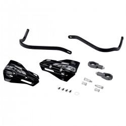 ZETA Aluminiowe osłony dłoni / handbary czarne 28.6mm + szalki XC czarne - komplet