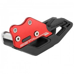 ZETA Prowadnica łańcucha HONDA CRF250L/M RALLY wzmocniona czerwona