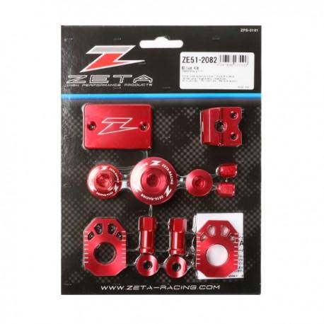 ZETA Zestaw akcesoriów HONDA CRF250RALLY 17-18 czerwony