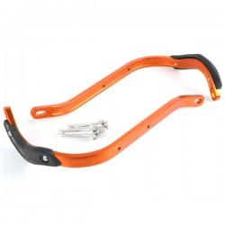 ZETA Aluminiowe osłony dłoni / handbary PRO pomarańczowe
