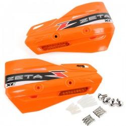 ZETA Szalki XC z kierunkowskazmi LED (pomarańcz) do osłon dłoni pomarańczowe komplet