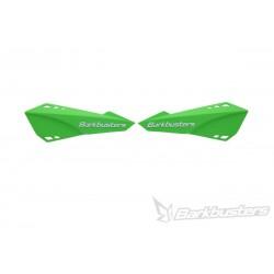 BARKBUSTERS Handbary / osłony dłoni listki zielone MTB do rowerów E-BIKE / ENDURO / DOWNHILL / MOUNTAIN / LEISURE