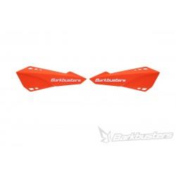 BARKBUSTERS Handbary / osłony dłoni listki pomarańczowe MTB do rowerów E-BIKE / ENDURO / DOWNHILL / MOUNTAIN / LEISURE