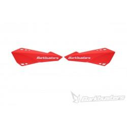 BARKBUSTERS Handbary / osłony dłoni listki czerwone MTB do rowerów E-BIKE / ENDURO / DOWNHILL / MOUNTAIN / LEISURE