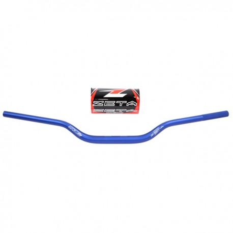 ZETA Kierownica 28,6mm aluminiowa SX3 1,1/8 cala MX-123 fatbar HONDA CR125R/250R, CRF250R/X CRF450R/X, CRF450L niebieski