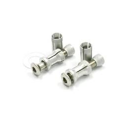ZETA Adaptery, kołki montażowe handbarów / osłon dłoni 13.5mm-19.0mm