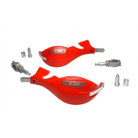 BARKBUSTERS Handbary / osłony dłoni EGO 22,2mm czerwone